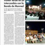 Musicos Alemanes visitan Teruel en un intercambio con la Banda de Monreal