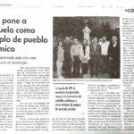 Juste pone a Orihuela como ejemplo de un pueblo dinámico.