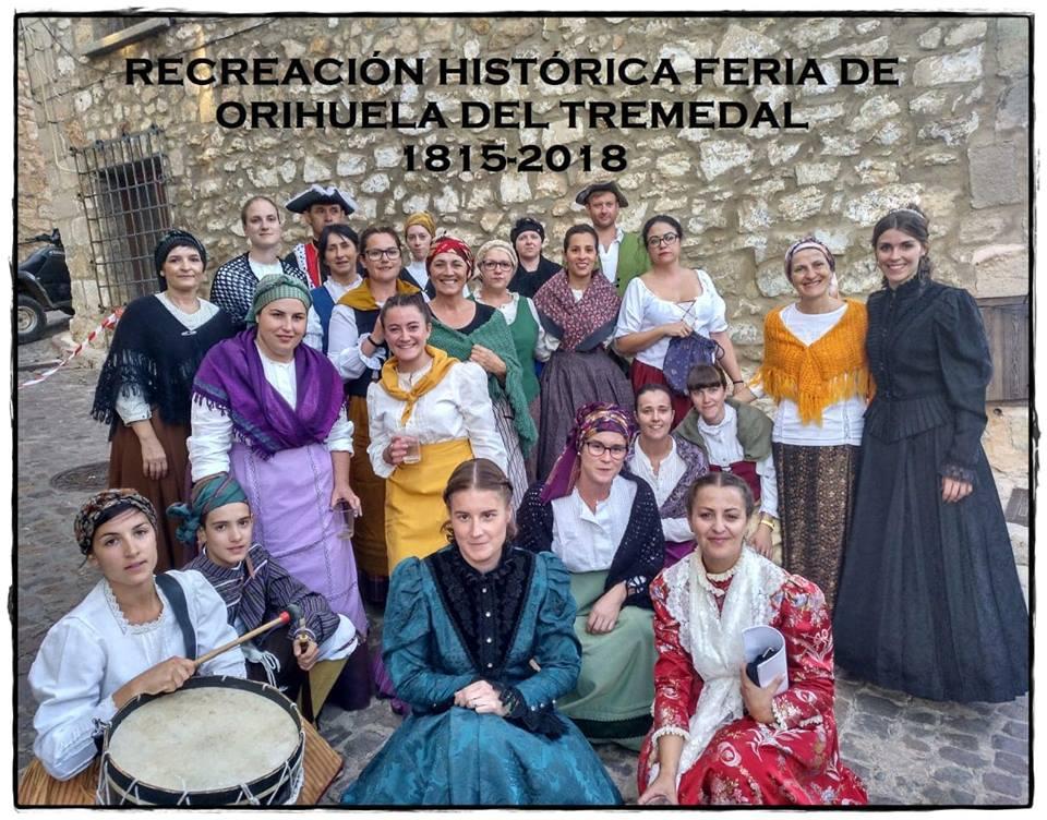 La feria de Orihuela del Tremedal tendrá recreación histórica.